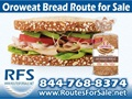 Oroweat and Mrs. Bairds Bread Route For Sale, Friendswood, TX