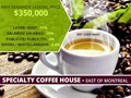 (CKRP-0001) Specialty Coffee House For Sale in East of Montreal
