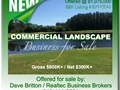 Nets $300K. Commercial Landscape Business For Sale In Florida. Established 18 Years