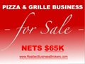 Nets $65K - Pizza And Grille Business For Sale