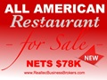 Nets $78K - All American Family Style Restaurant For Sale