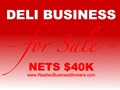 Nets $40K - Deli Business For Sale In Largo, Florida