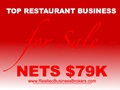 Nets $79K - Best Restaurant For Sale In Area!