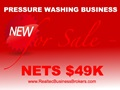 Nets $49K - Pressure Washing Business For Sale With Accounts!