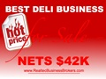 Nets $42K - Deli For Sale, Best Priced On Market!