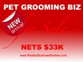 Nets $33K - Pet Grooming Business For Sale In Florida
