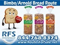 Arnold & Bimbo Bread Route For Sale, Columbia