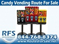 Vending Machine Route For Sale - Bulk Candy Route, Greenville