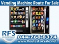 Snack and Soda Vending Route For Sale, Nevada and Placer Counties