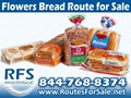 Flowers Bread Route For Sale, Cary