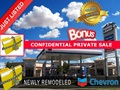 Newly Remodeled Chevron & Market - Business For Sale