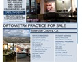 Riverside County, CA Optometry Practice For Sale