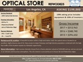 Upscale LA Optical Store for Sale