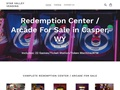 Redemption Center / Arcade for sale