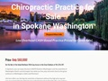 Chiropractic Practice for Sale in Spokane Washington