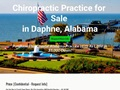 Chiropractic Practice for Sale in Daphne, Alabama
