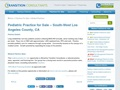 Pediatric Practice For Sale - South-West Los Angeles County, CA