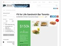 Fit For Life Existing Franchise Business For Sale Toronto
