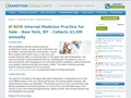 Internal Medicine Practice For Sale in New York, NY