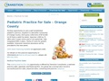 Pediatric Practice for Sale in Orange County, CA